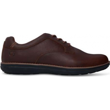 Mens A19JB Barrett Park Oxford Shoe in Medium Brown