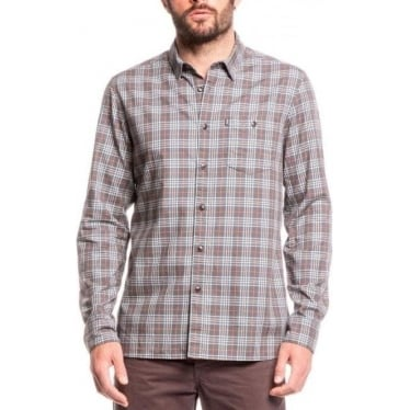Mens Sandpiper Shirt in Fusain Check