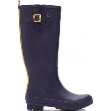 Joules Womens Field Welly in French Navy