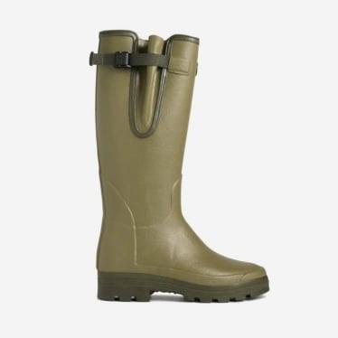 Vierzonord Neoprene Wellingtons 38cm Calf in Green