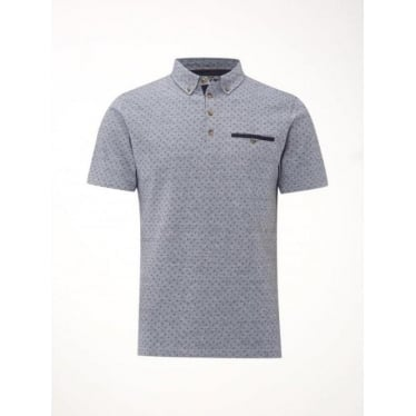 Mens Radar Polo in Blue