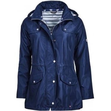 Barbour Womens Trevose Jacket in New Navy