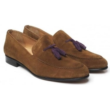 Mens Bedingfeld Loafer in Tan