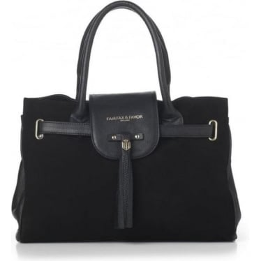 Womens Windsor Handbag in Black