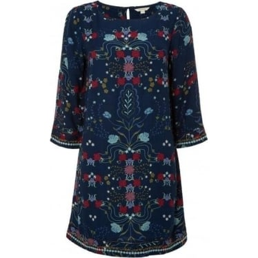 Womens Everbloom Tunic in Wall Blue
