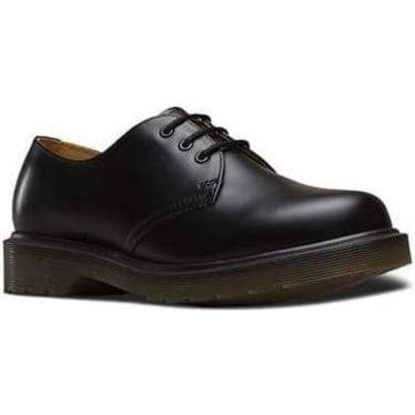 1461 PW Smooth Shoe in Black