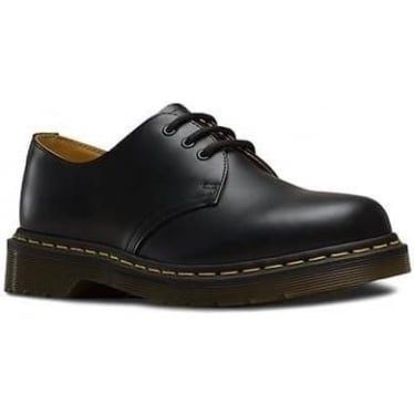 1461 Smooth Shoe in Black