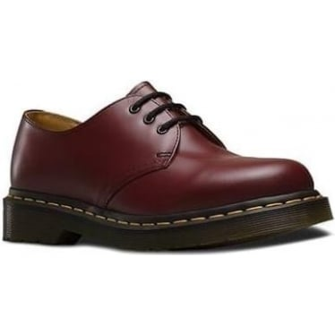1461 Smooth Shoe in Cherry