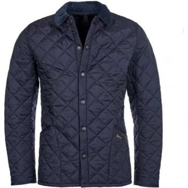Mens Heritage Liddesdale Quilted Jacket in Navy