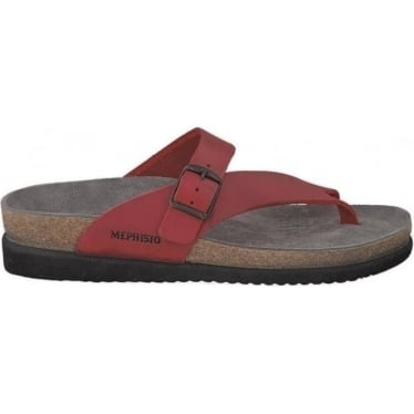 Womens Helen Sandal in Red