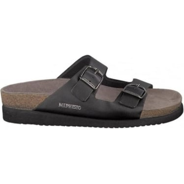 Womens Harmony Sandal in Black