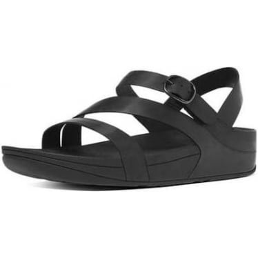 Fitflop Womens The Skinny Z-Strap Sandals in All Black