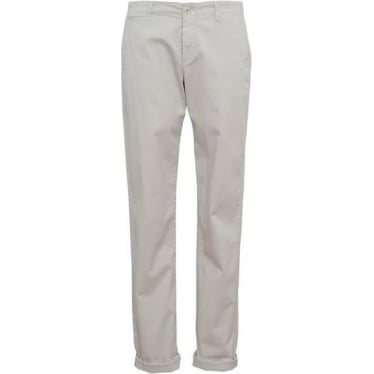 Womens Summer Stretch Chino in Mineral Grey