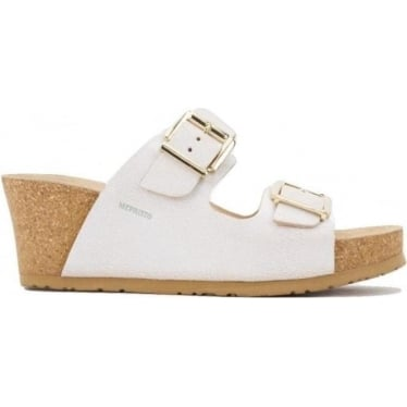 Womens Lenia Wedge in White