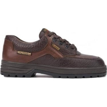 Mens Barracuda Shoe in Dark Brown