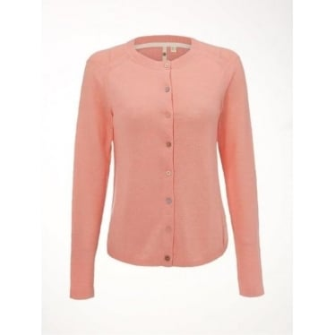 White Stuff Womens Chalky Cardi in Carnation Pink