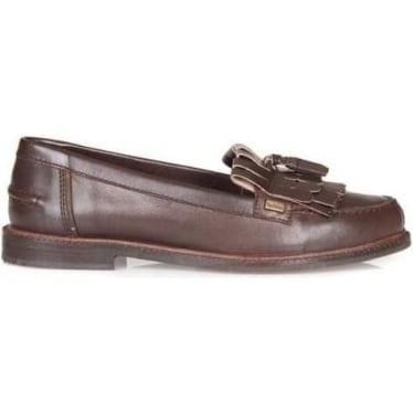 Womens Olivia Loafer in Brown