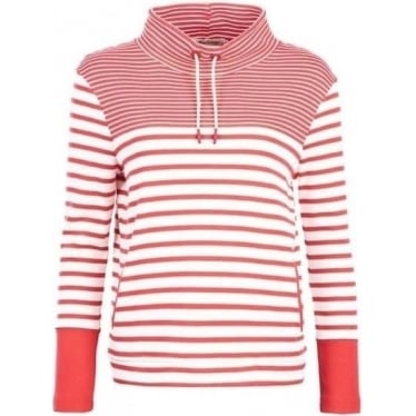 Womens Rief Sweat in Cloud Red