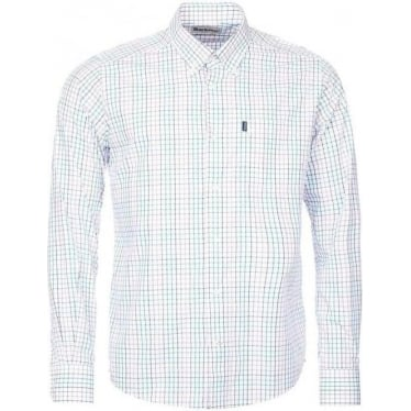 Mens Patrick Fitted Shirt in Lawn