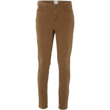 Womens Super Soft Skinny Jeans in Hawthorn Green