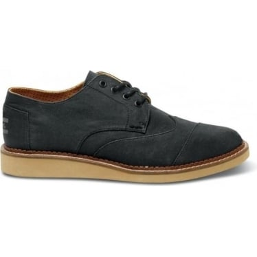 Mens Aviator Twill Brogues in Ash