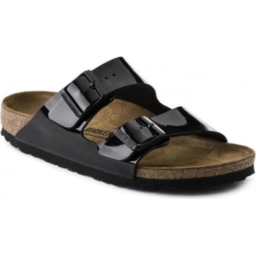 Womens Arizona Birko-Flor in Black Patent