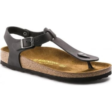 Womens Kairo in Black Oiled Leather