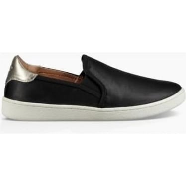 Womens Cas Slip On in Black