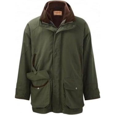 Mens Ptarmigan Interactive Shooting Coat in Hunter Green