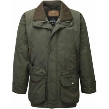 Mens Ptarmigan Superlight Coat in Forest Green
