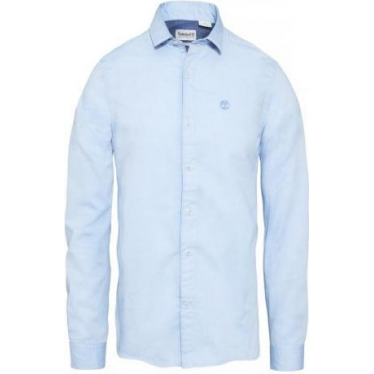 Mens Milford Oxford Shirt in Skyway