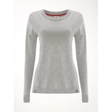 Womens Meadow Jumper in Silver Grey