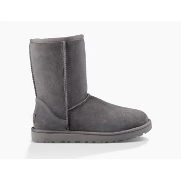 Womens Classic Short II Boot in Grey