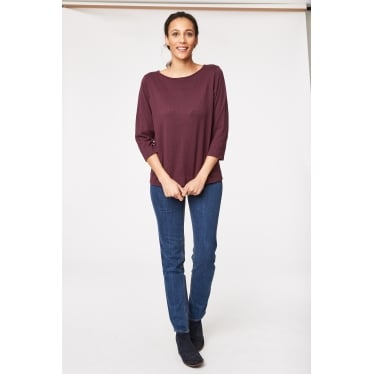 Womens Jeanette Top in Heather