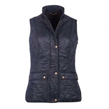 Womens Wray Gilet in Black