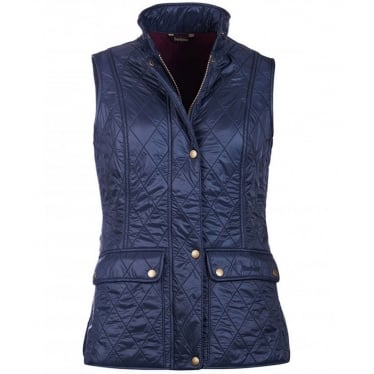 Womens Wray Gilet in Navy