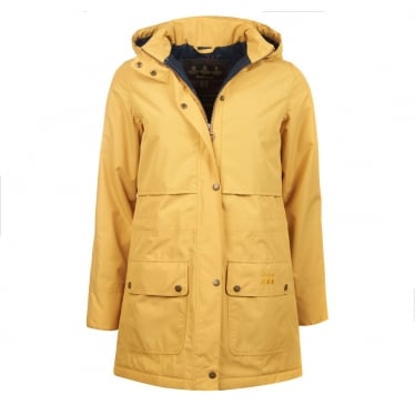 Womens Stratus Jacket in Sun Gold