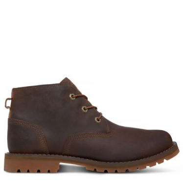 Mens Larchmont Waterproof Chukka in Gaucho Saddleback