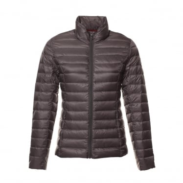Womens Cha Jacket in Gris Anthracite