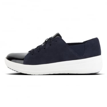 Womens F-Sporty™ Lace-up Sneaker in Midnight Navy Mix