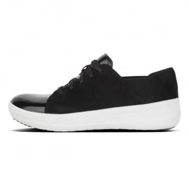 Womens F-Sporty™ Lace-up Sneaker in Black Mix