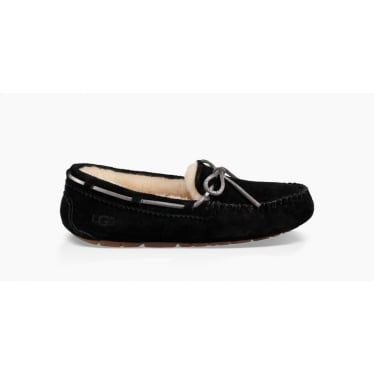 Womens Dakota Metallic Slipper in Black