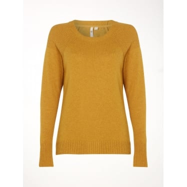 Womens Hearth Jumper in Sugar Yellow Plain