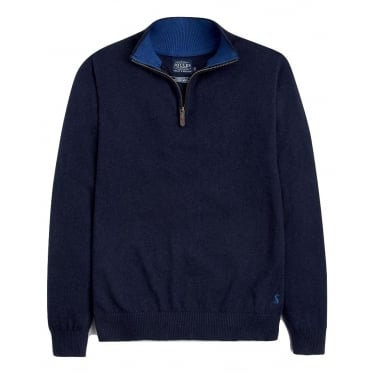 Joules Hillside Jumper in French Navy Marl