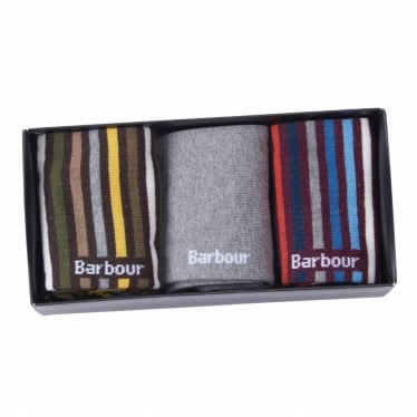 Barbour Heywood Sock Gift Set