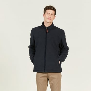Mens Broadbill Fleece Jacket in Midnight