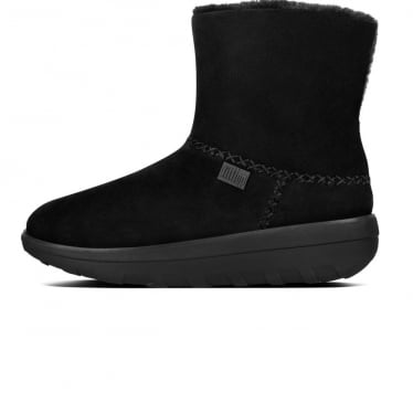 Womens Mukluk Shorty II Boot in Black