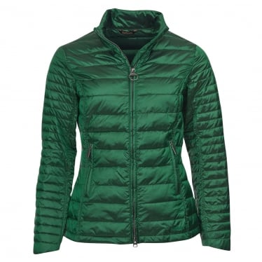 Womens Iona Quilted Jacket in Clover