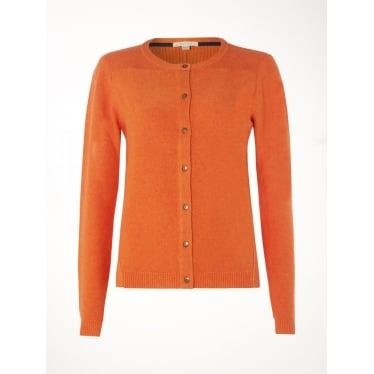Womens Haven Cardi in Orange