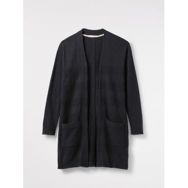Womens Fondant Cardi in Slate Grey